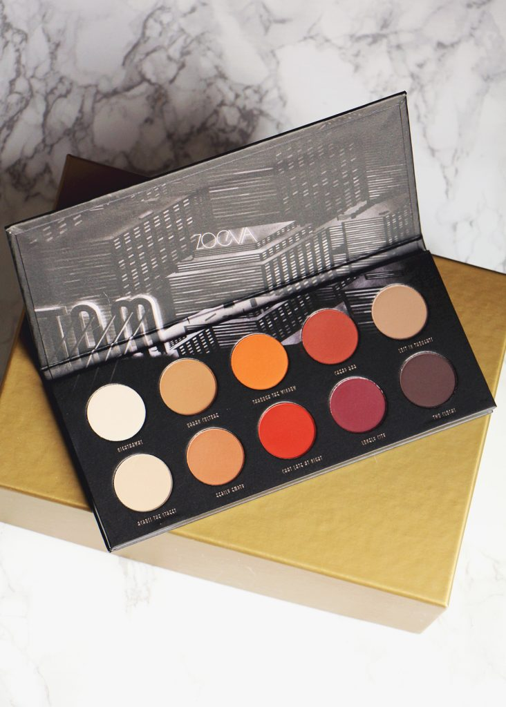 zoeva palette matte open revue review